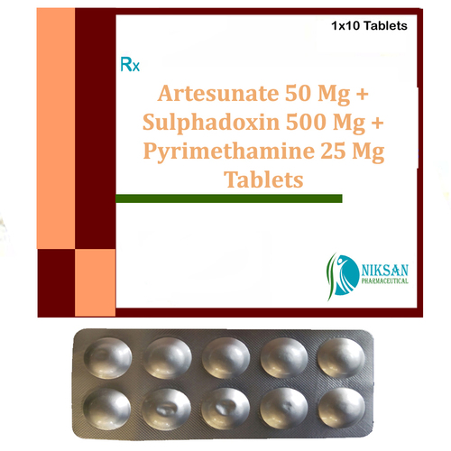 Artesunate Sulphadoxin Pyrimethamine Tablets