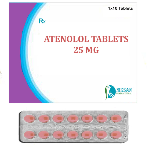 Atenolol 25 Mg Tablets