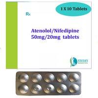 Atenolol 50Mg Nifedipine 20Mg Tablets