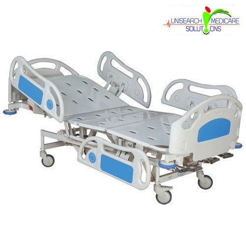 THREE FUNCTIONAL HI-LOW ICU BED
