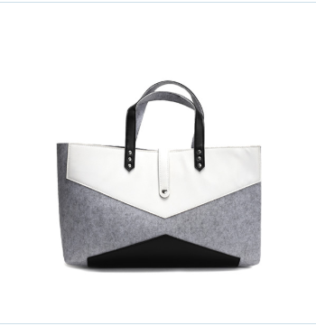 LADIES FASHION FELT TOTE BAG
