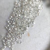 Cvd Diamond 1.30mm to1.35mm GHI VS SI Round Brilliant Cut Lab Grown HPHT Loose Stones TCW 1