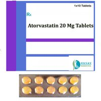 Atorvastatin 20 Mg Tablets