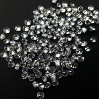 Cvd Diamond 1.35mm to1.40mm GHI VS SI Round Brilliant Cut Lab Grown HPHT Loose Stones TCW 1