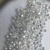 Cvd Diamond 1.50mm to 1.55mm GHI VS SI Round Brilliant Cut Lab Grown HPHT Loose Stones TCW 1