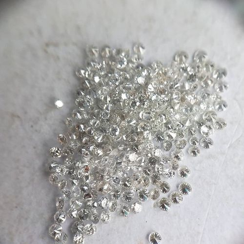 Cvd Diamond 1.55mm to1.60mm GHI VS SI Round Brilliant Cut Lab Grown HPHT Loose Stones TCW 1