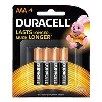 Duracell AAA 4 Coppertop Alkaline Batteries 1.5V – 4 Pack