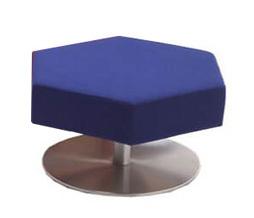 Waiting Fabric Sofa Chair