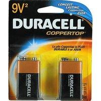 Duracell 9V 2 Batteries