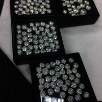 Cvd Diamond 2.50mm to 2.60mm GHI VS SI Round Brilliant Cut Lab Grown HPHT Loose Stones TCW 1