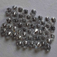 Cvd Diamond 2.60mm to 2.70mm GHI VS SI Round Brilliant Cut Lab Grown HPHT Loose Stones TCW 1