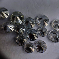 Cvd Diamond 3.20mm to 3.30mm GHI VS SI Round Brilliant Cut Lab Grown HPHT Loose Stones TCW 1