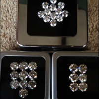Cvd Diamond 3.30mm to 3.40mm  GHI VS SI Round Brilliant Cut Lab Grown HPHT Loose Stones TCW 1