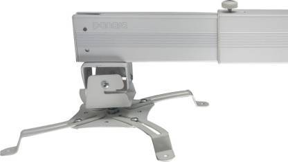 Panara Deluxe Aluminium Projector Mount Kit for Wall/Ceiling Size: 3 Feet - White Projector Stand Projector Stand  (Maximum Load Capacity 20 kg)