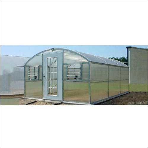 White Polycarbonate Agricultural Greenhouse