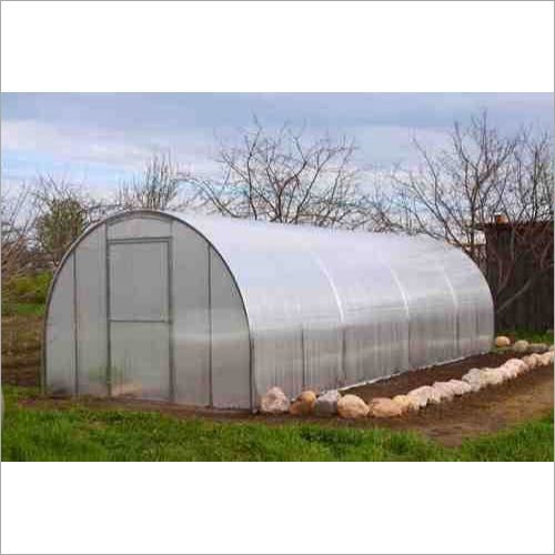 White Round Mini Greenhouse