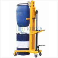 Manual Drum Stacker (V Shape Base)