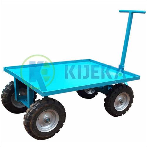 Platform Truck With Pneumatic Wheel