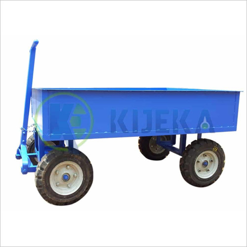 Platfom Truck Pneumatic Wheel (12 Inch Steel Sheet Sider)