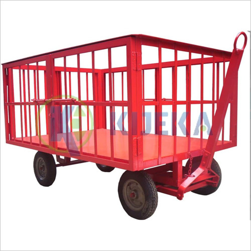 Platfom Truck Pneumatic Wheel (Cage Type)