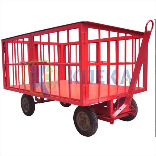 Platfom Truck Pneumatic Wheel (Cage Type)