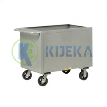 Steel Box Cart-4 Side Solid Sider