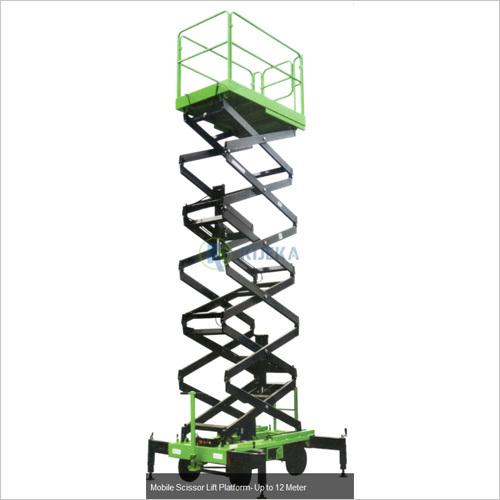 Mobile Scissor Lift Platform Upto 12M