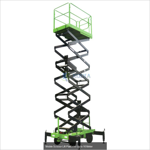 Mobile Scissor Lift Platform Upto 16M
