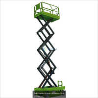 Self Propelled Scissor Lift Platform Upto 14 Meter