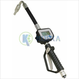Oil Control Gun With Electronic Meter
