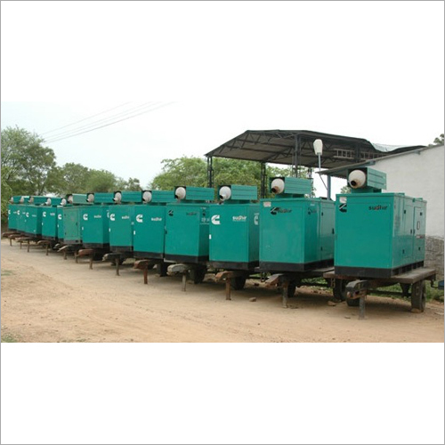 Rent/Hire Silent Diesel Generator Rental Services