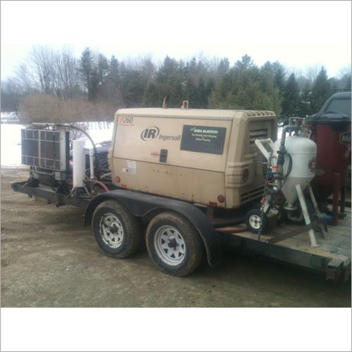 Rent/Hire Sand Blasting Machine Rental Services
