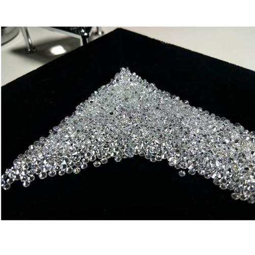 Cvd Diamond 1.20mm DEF VVS VS Round Brilliant Cut Lab Grown HPHT Loose Stones TCW 1