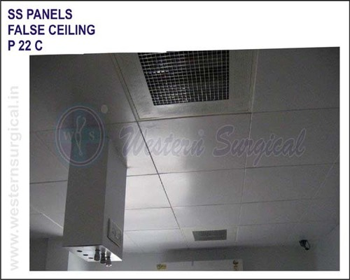 SS Panel False Ceiling