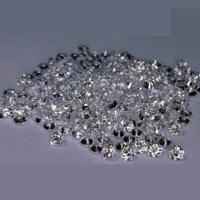 Cvd Diamond 1.30mm  DEF VVS VS Round Brilliant Cut Lab Grown HPHT Loose Stones TCW 1