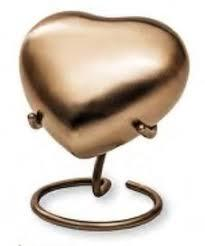 Trinity Pearl Brass Keepsake Urn