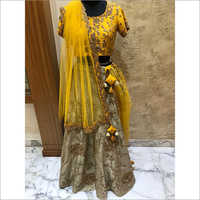 Embroidered Women Lehenga