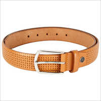 Mens Embossed Belt