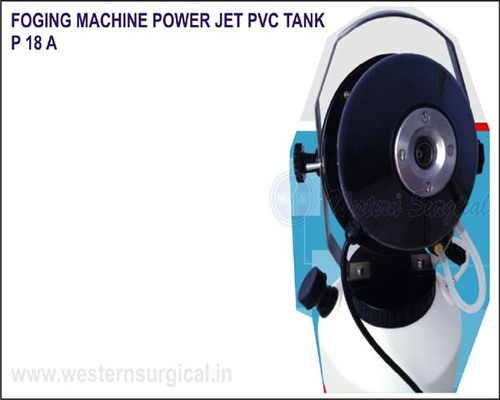 Foging Machine Power Jet PVC Tank