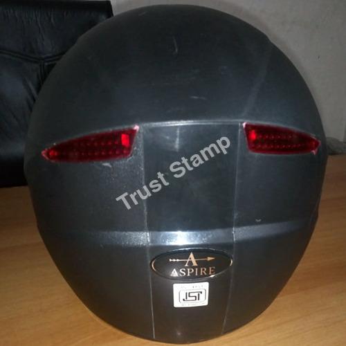 Aspire Pure Black Helmet