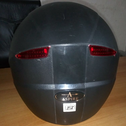 Aspire Pure Black Helmet