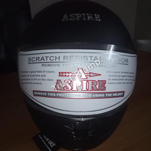 Aspire Scratch Resistant Visor Helmet
