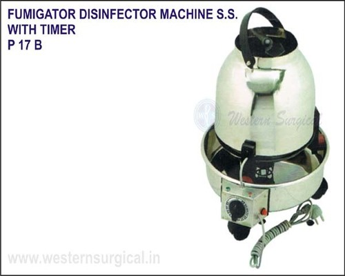 Fumigator Disinfector Machine S.S. - With Timer