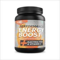 Orange Flavour Energy Booster Drink