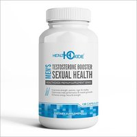 HealthOxide Booster/Sexual Health for Men 120 Veg Capsules (100% Natural)