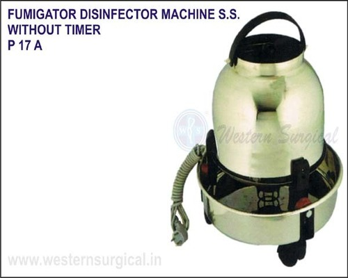 Fumigator Disinfector Machine S.S. - Without Timer
