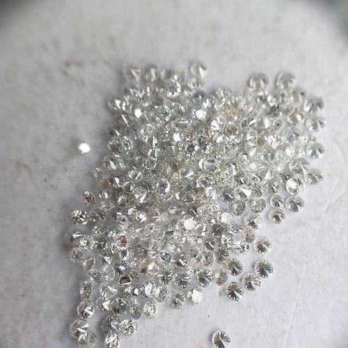 Cvd Diamond 1.80mm  DEF VVS VS Round Brilliant Cut Lab Grown HPHT Loose Stones TCW 1
