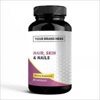 Private Lable For Hair, Skin & Nails Formula