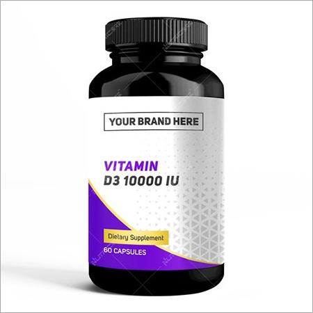 Private Label Vitamin D3 10,000 IU