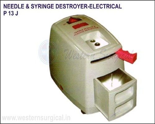 Needle & Syringe Destroyer-Electrical